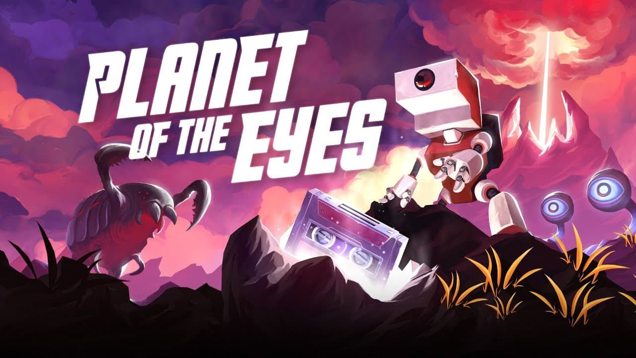 Jaquette Planet of the Eyes