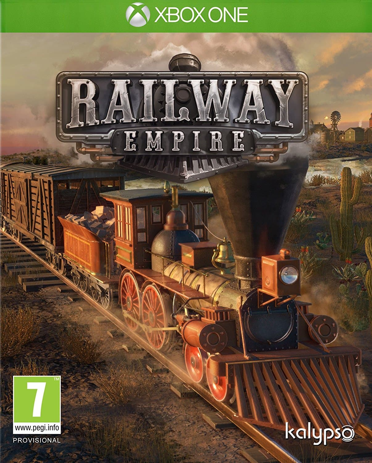 Jaquette Railway Empire