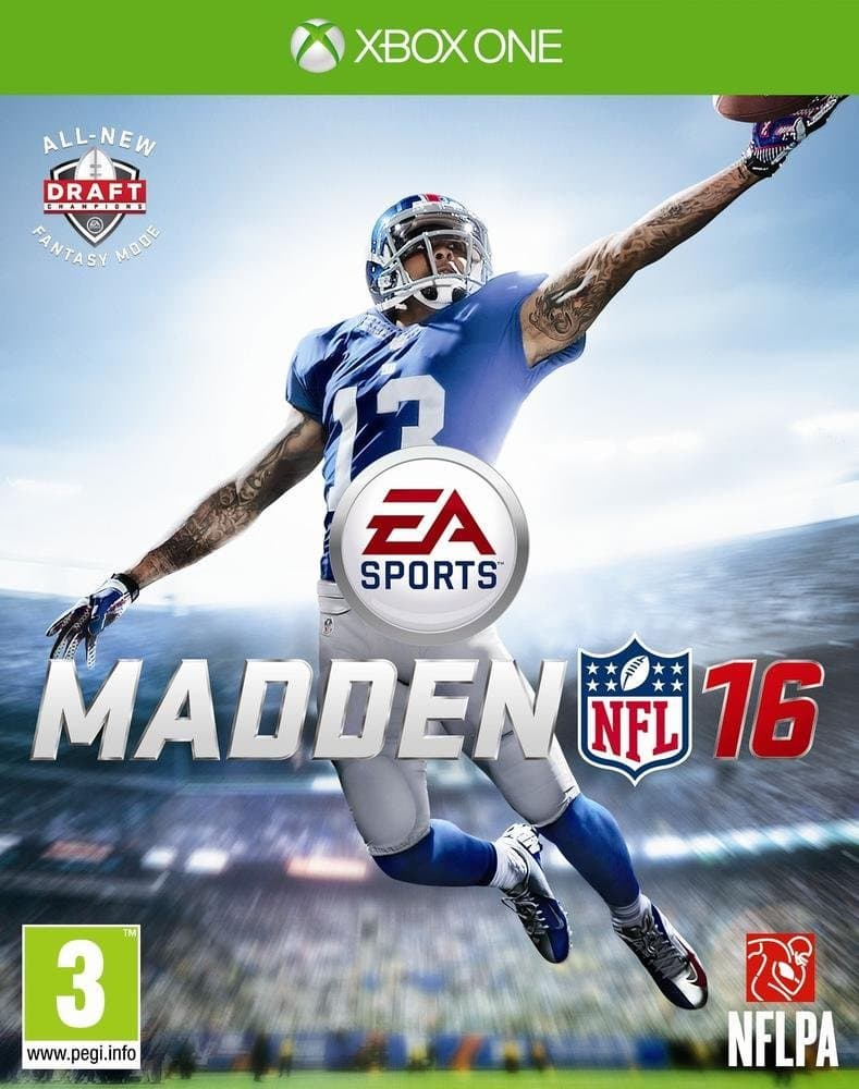 Jaquette Madden NFL 16 Super Deluxe Edition