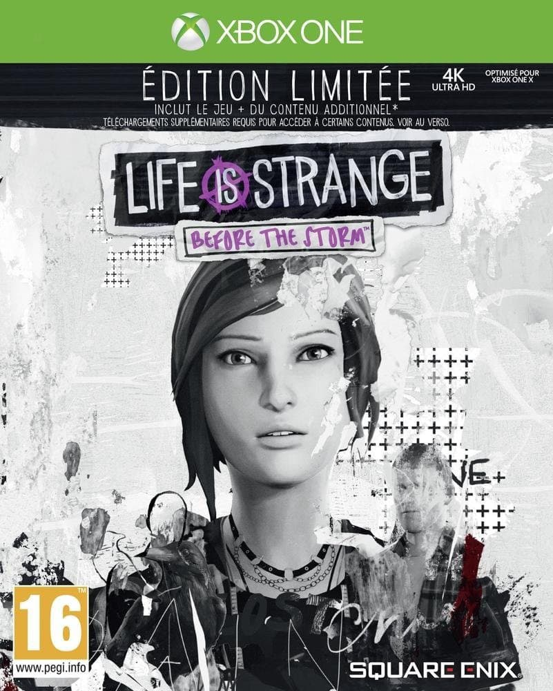 Jaquette Life is Strange Before the Storm