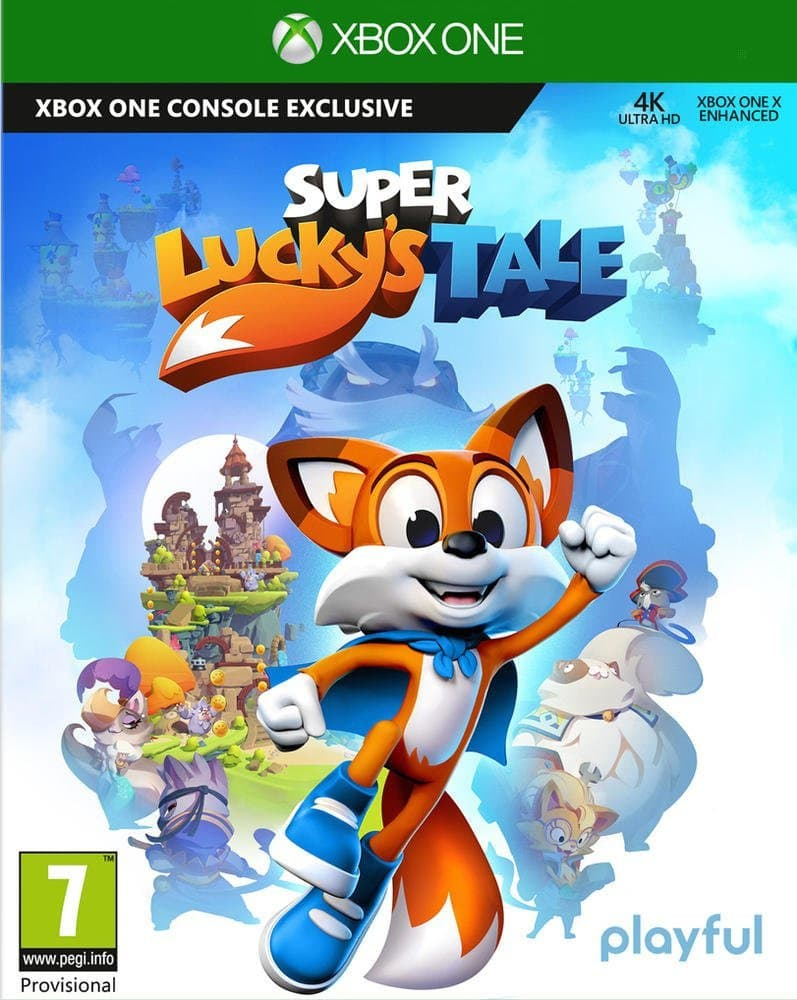 Jaquette Super Lucky's Tale