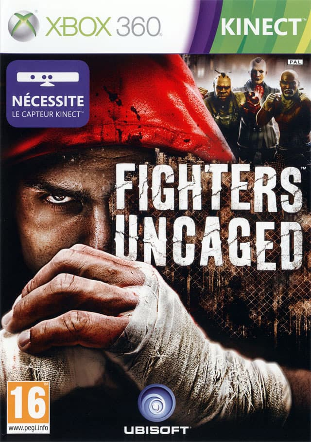 Jaquette Fighters Uncaged