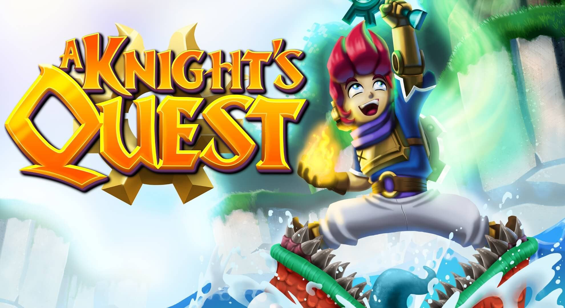 Jaquette A Knight's Quest