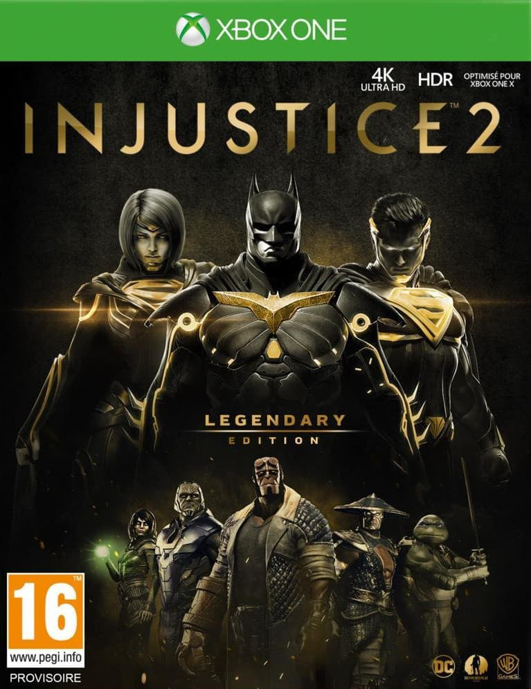 Jaquette Injustice 2 - Legendary Edition