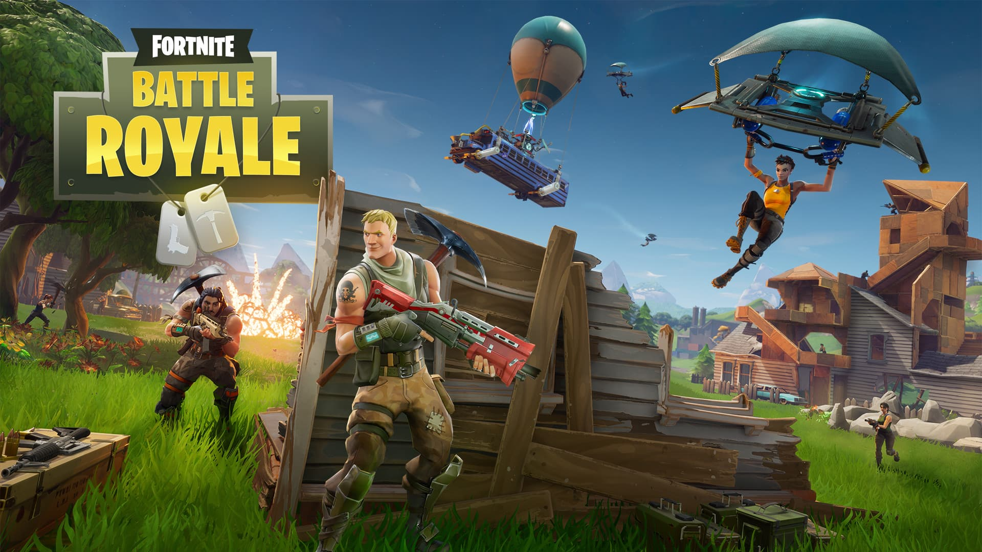 Jaquette Fortnite Battle Royale