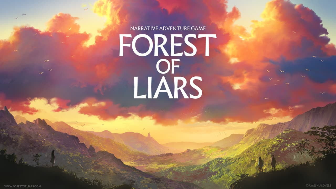 Jaquette Forest of Liars