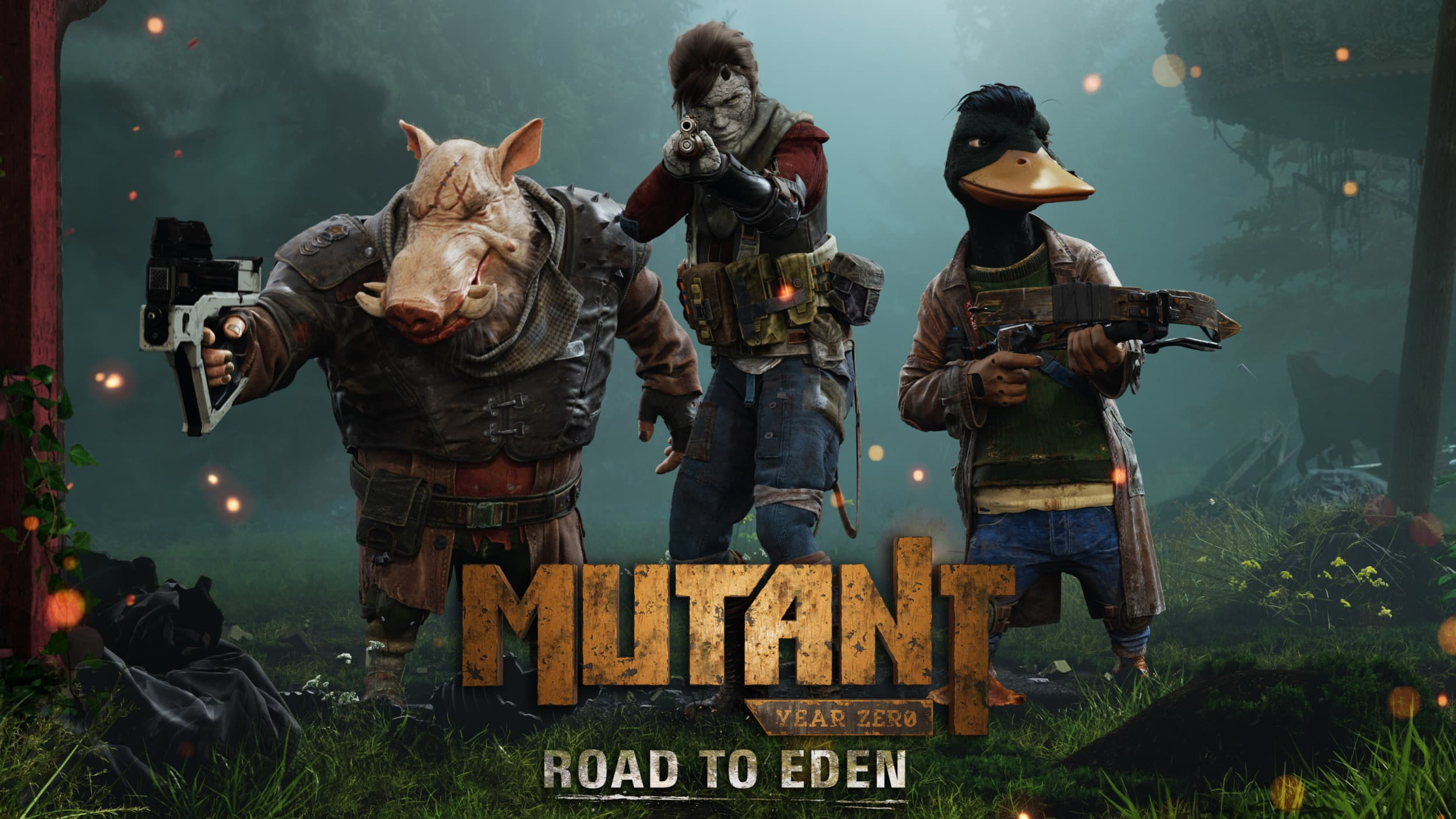 Jaquette Mutant Year Zero: Road to Eden