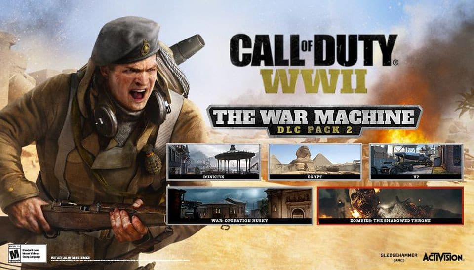 Jaquette Call of Duty : WWII - The War Machine