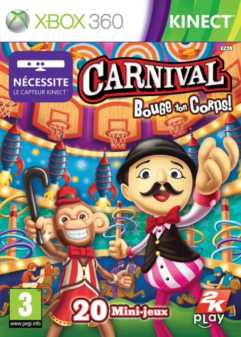 Jaquette Carnival: Bouge ton corps !