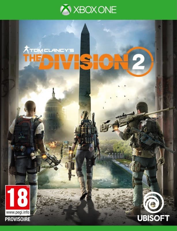 Jaquette Tom Clancy's The Division 2