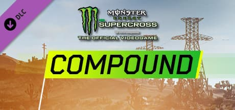 Jaquette Monster Energy Supercross : Compound
