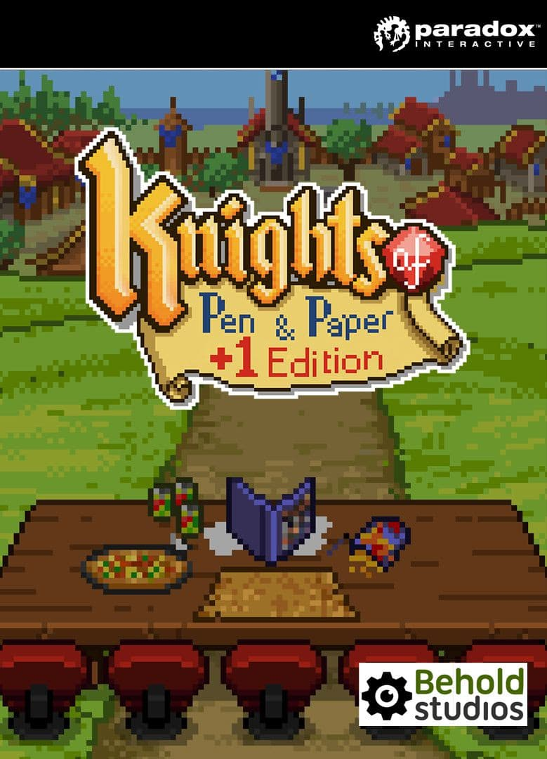Jaquette Knights of Pen and Paper +1 Deluxier Edition