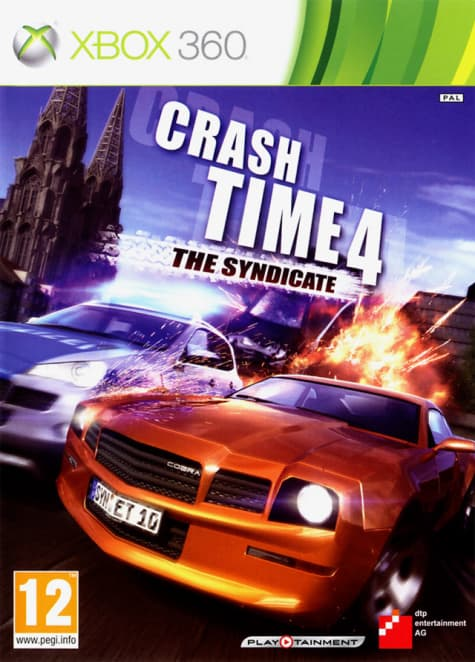 Jaquette Crash Time IV 4 The Syndicate