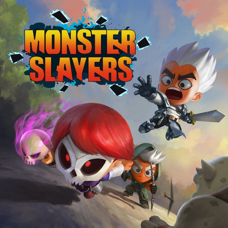 Jaquette Monster Slayers