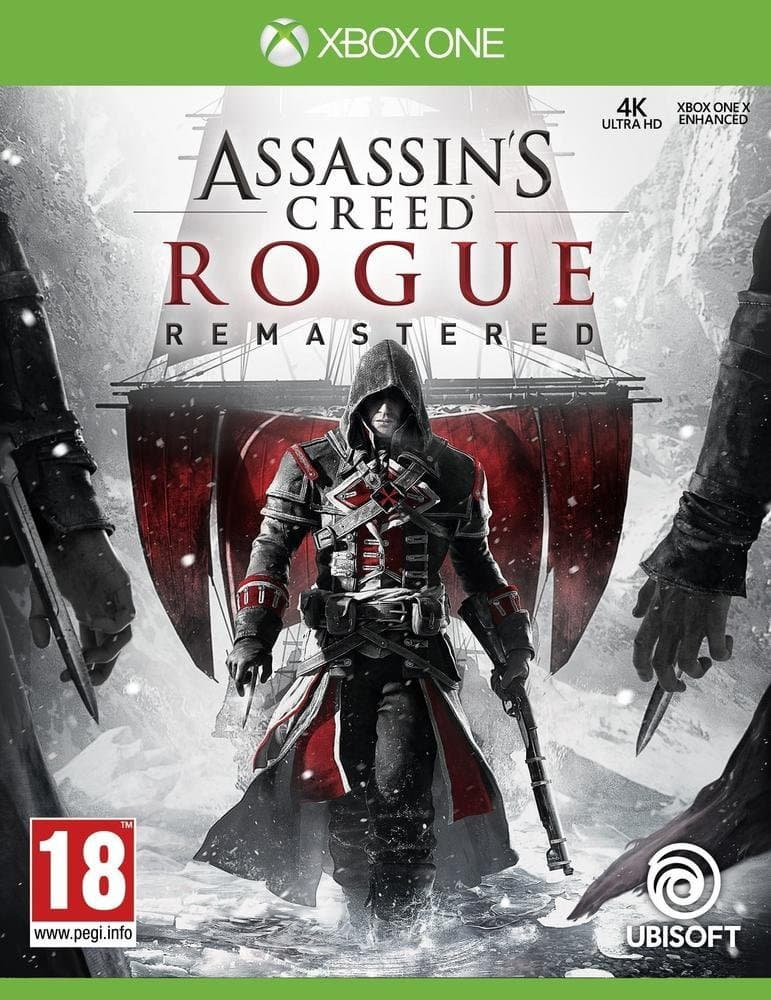 Jaquette Assassin's Creed Rogue Remastered