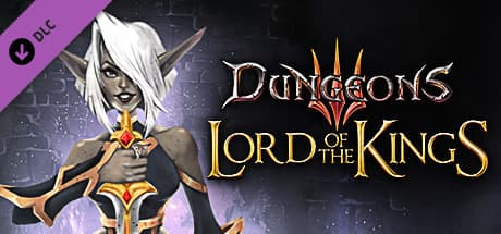 Jaquette Dungeons 3 - Lord of the Kings