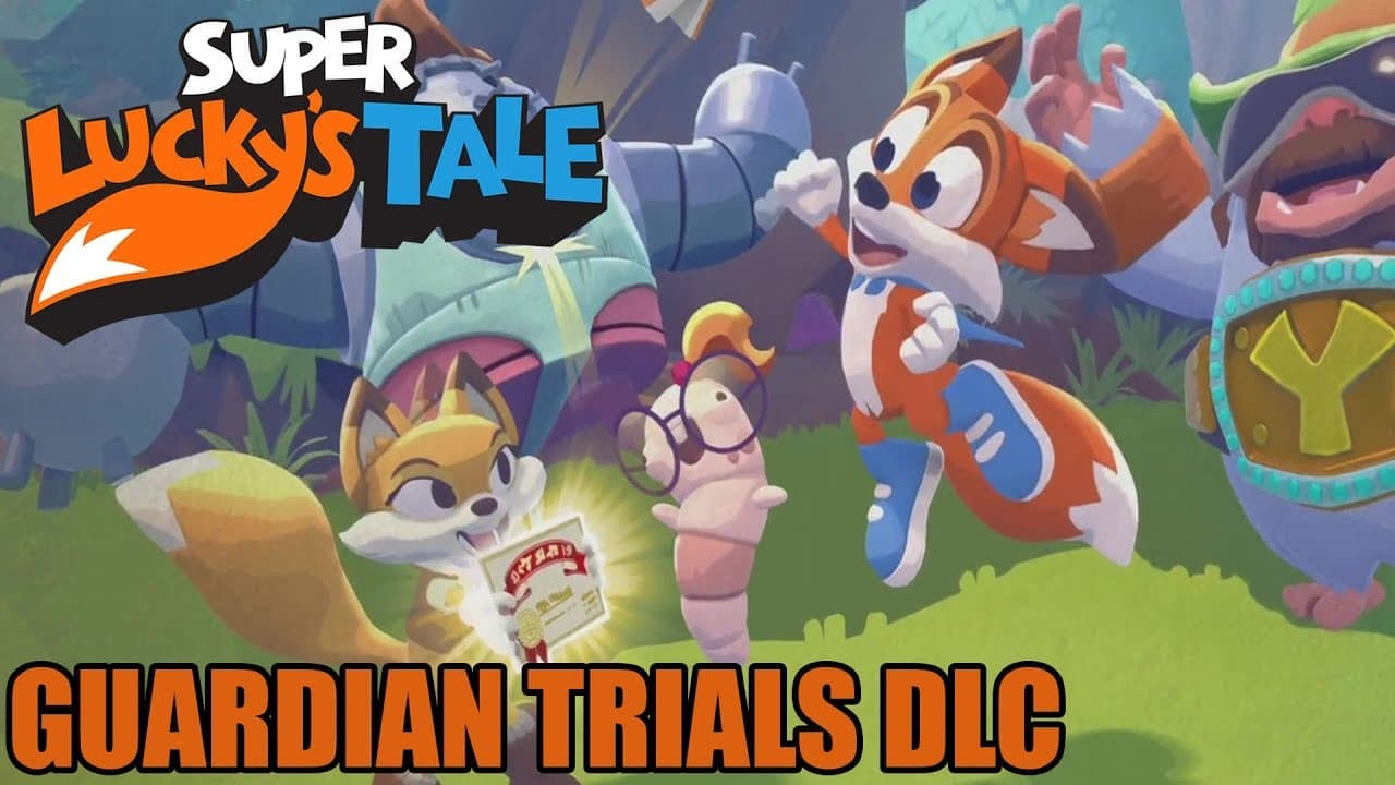 Jaquette Super Lucky's Tale : Guardian Trials