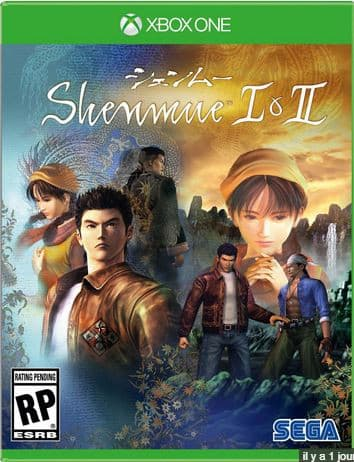 Jaquette Shenmue I & II