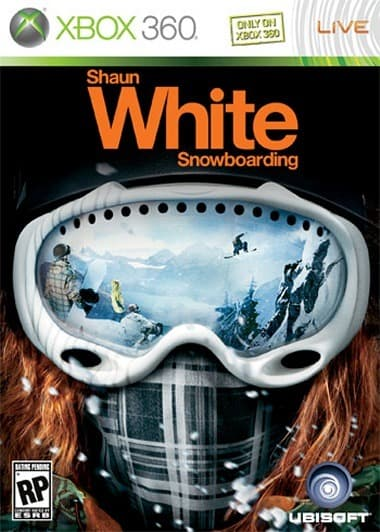 Jaquette Shaun White Snowboarding