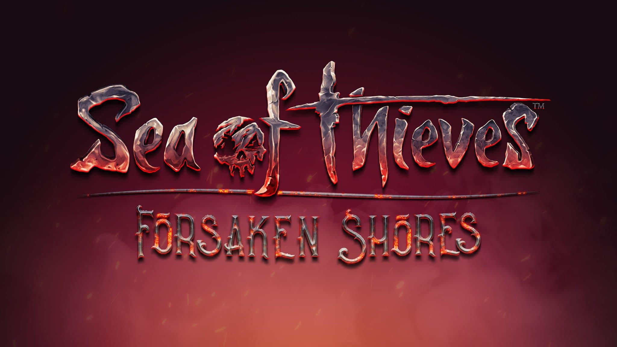 Jaquette Sea of Thieves : Forsaken Shores