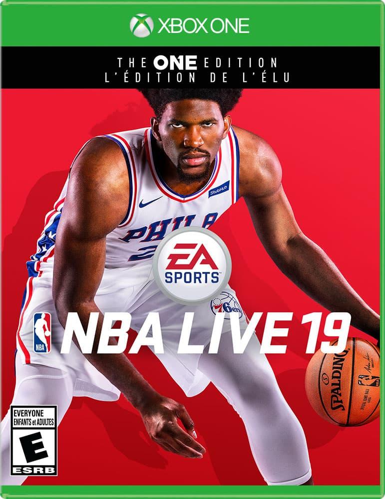 Jaquette NBA Live 19
