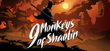 Jaquette 9 Monkeys of Shaolin