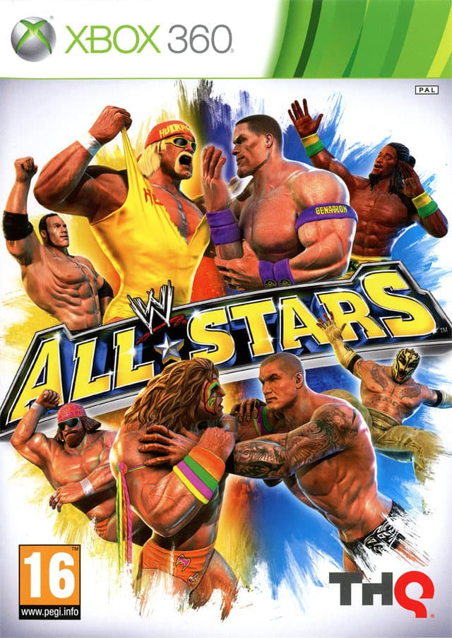 Jaquette WWE All Stars