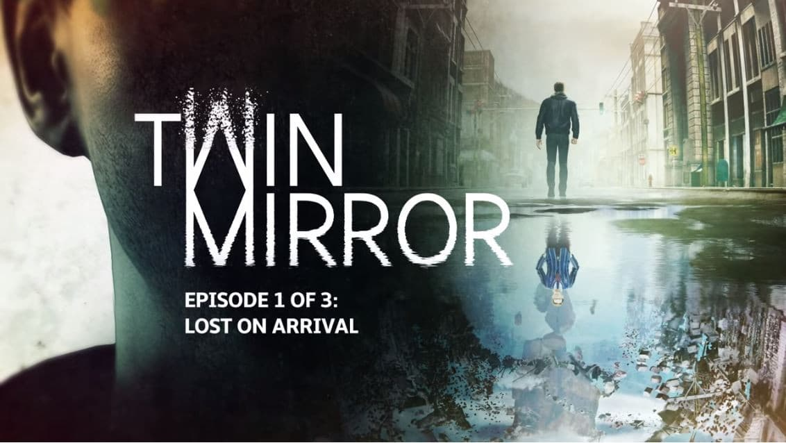 Jaquette Twin Mirror Episode 1 - Lost on Arrival