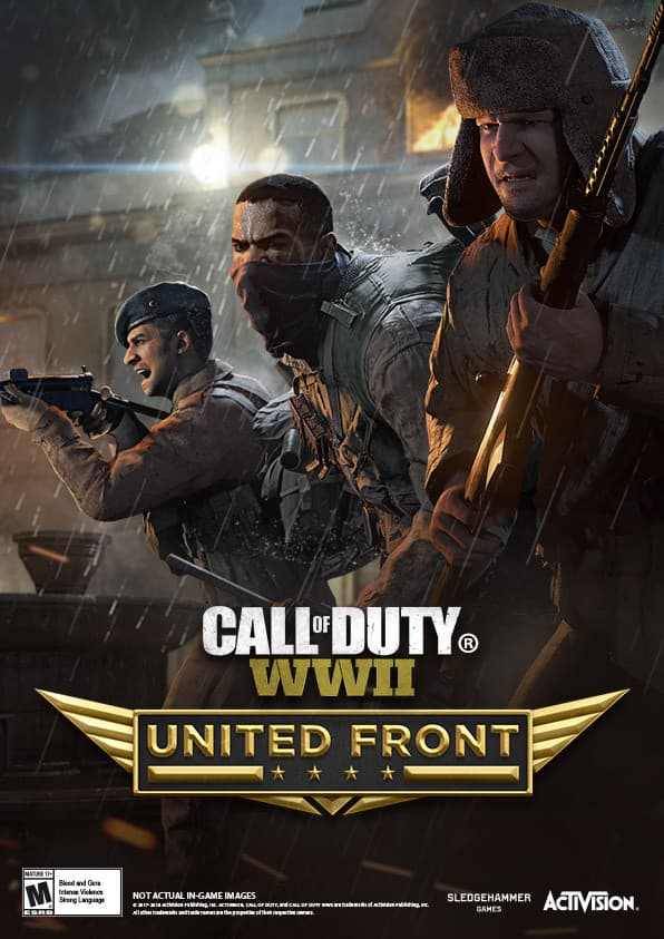 Jaquette Call of Duty : WWII - The United Front