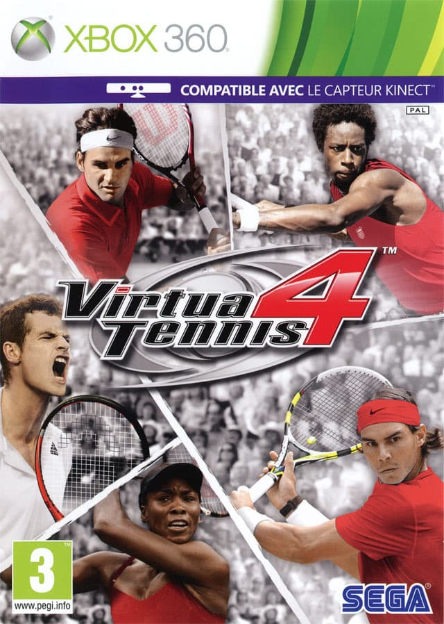 Jaquette Virtua Tennis 4