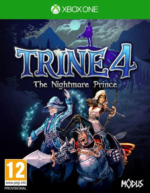 Jaquette Trine 4 : The Nightmare Prince