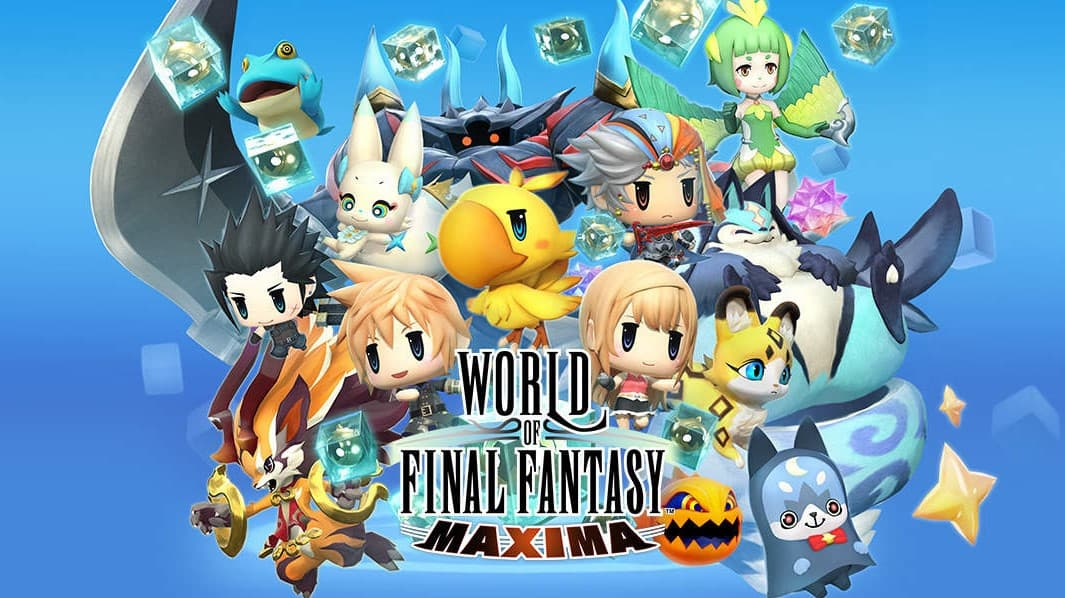 Jaquette World of Final Fantasy Maxima
