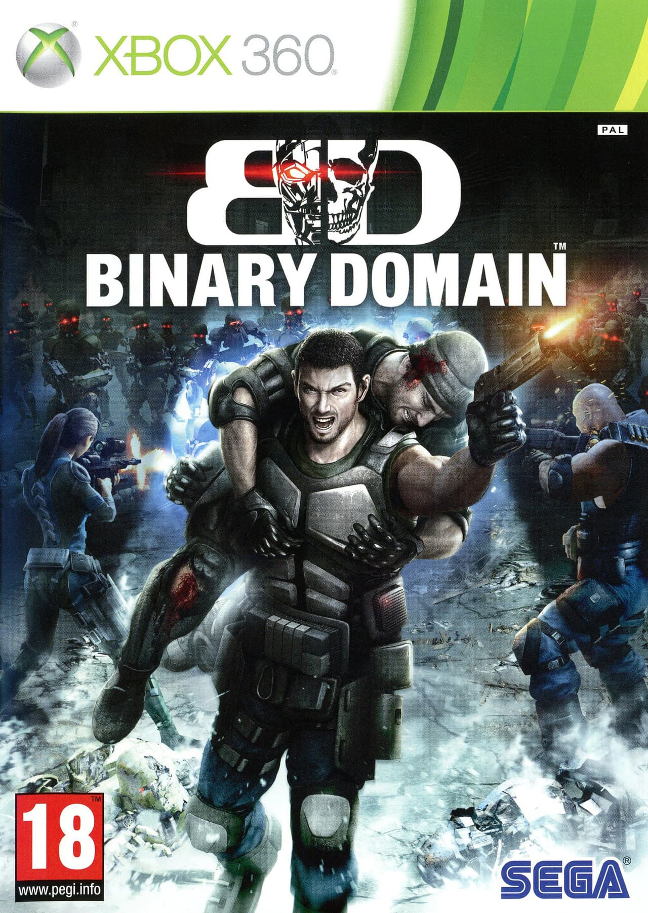 Jaquette Binary Domain