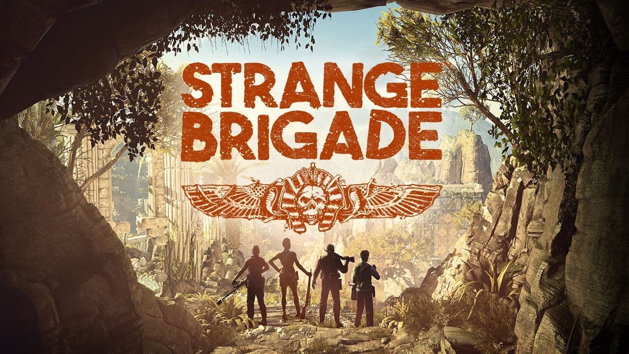Jaquette Strange Brigade - The Thrice Damned 2 : The Sunken Kingdom