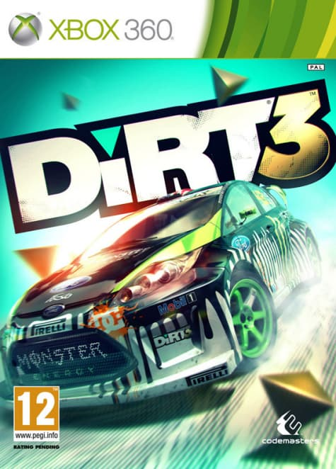 Jaquette Colin Mc Rae: Dirt 3