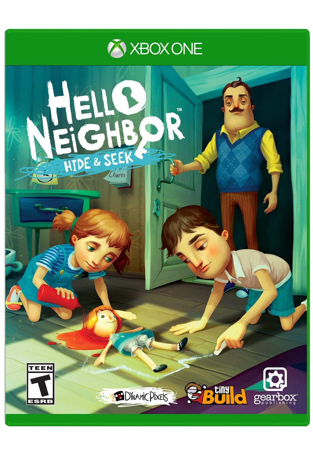 Jaquette Hello Neighbor: Hide and Seek
