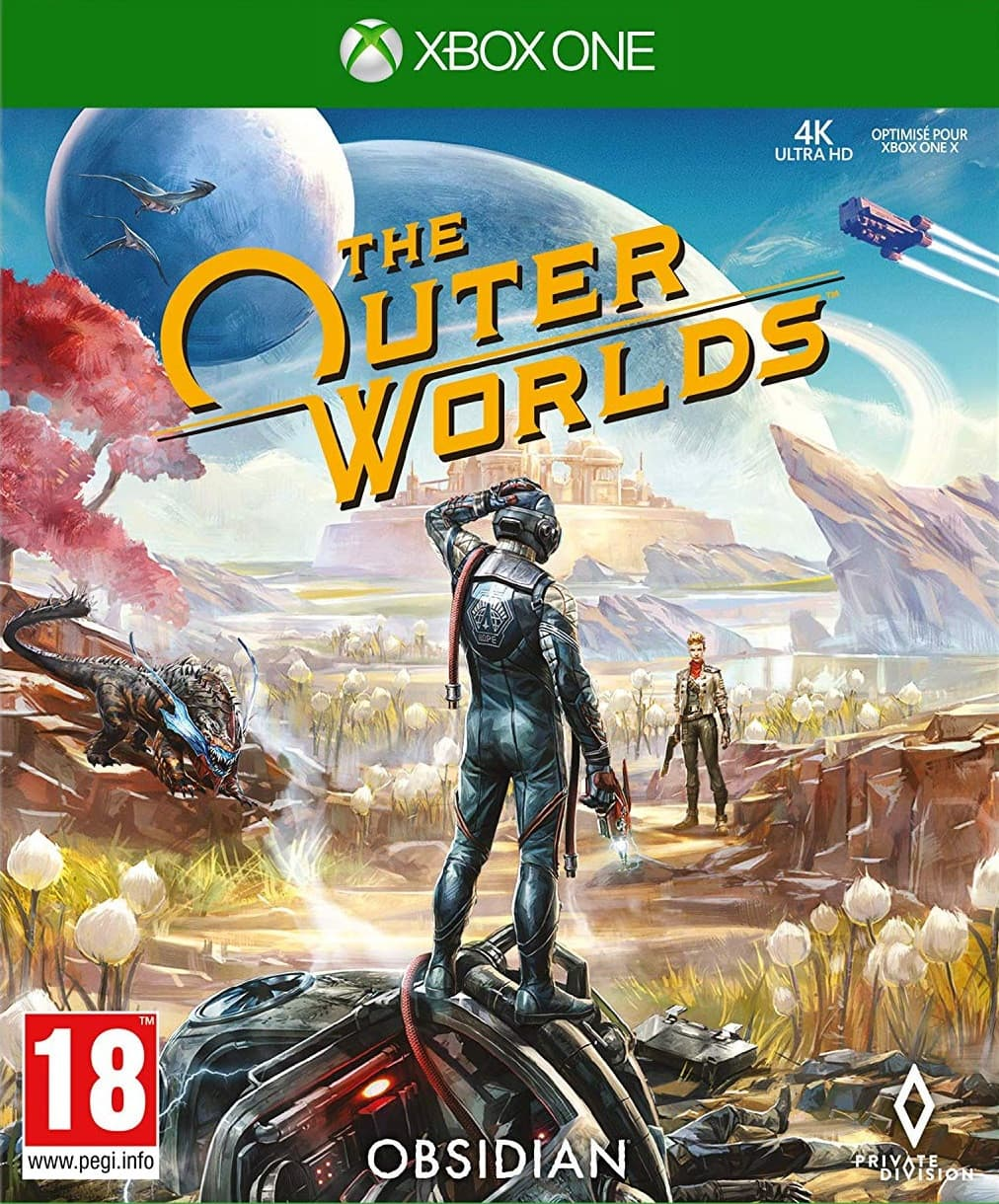 Jaquette The Outer Worlds