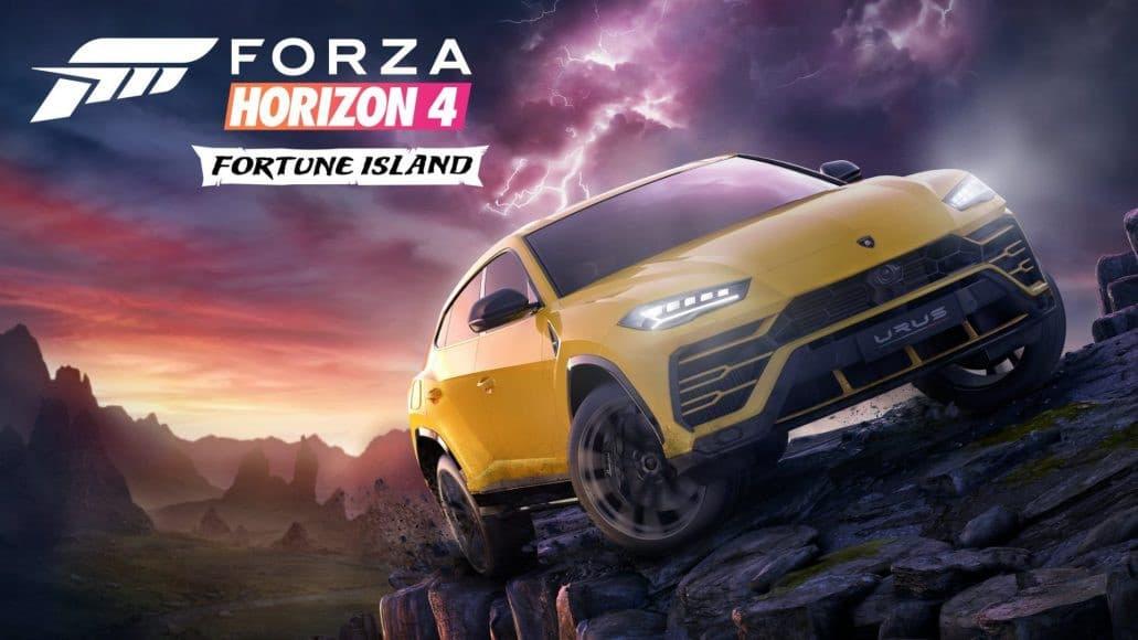 Jaquette Forza Horizon 4 : Fortune Island