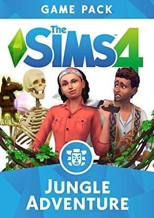 Jaquette Les Sims 4 : Dans la jungle