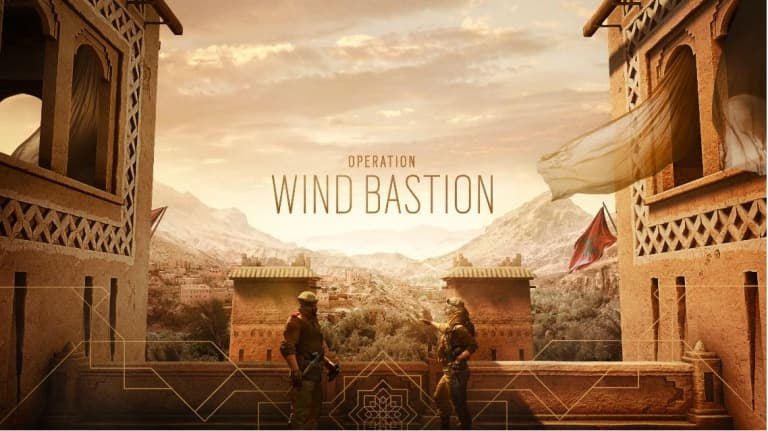 Jaquette Tom Clancy's Rainbow Six Siege : Opération Wind Bastion