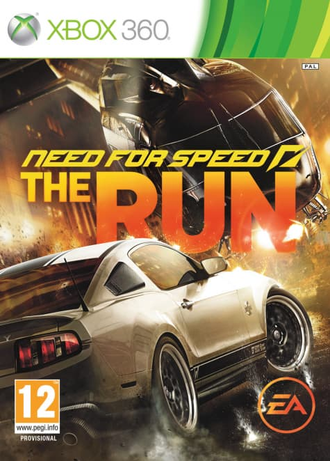 Jaquette Need For Speed The Run