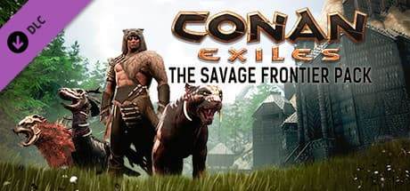 Jaquette Conan Exiles - The Savage Frontier