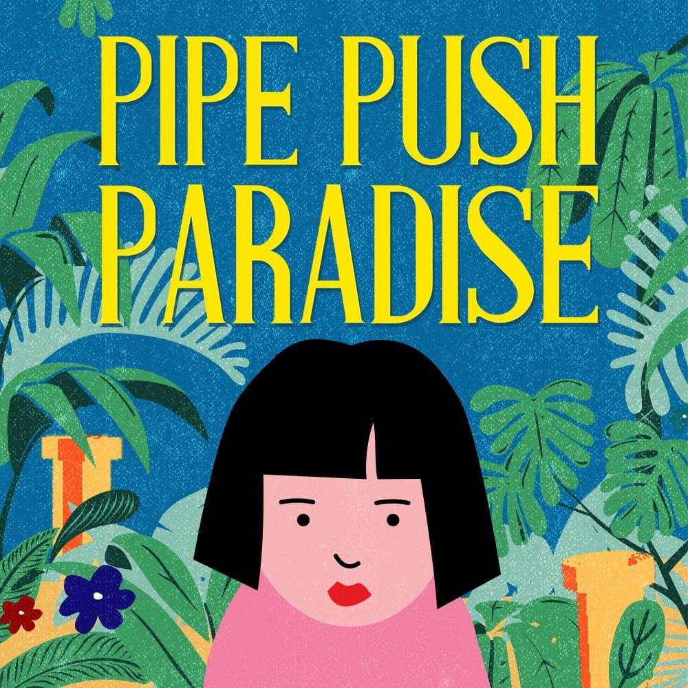 Jaquette Pipe Push Paradise