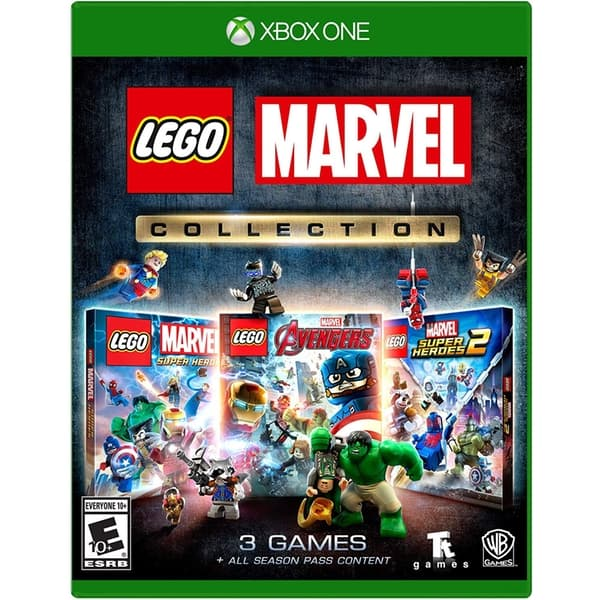 Jaquette LEGO Marvel Collection