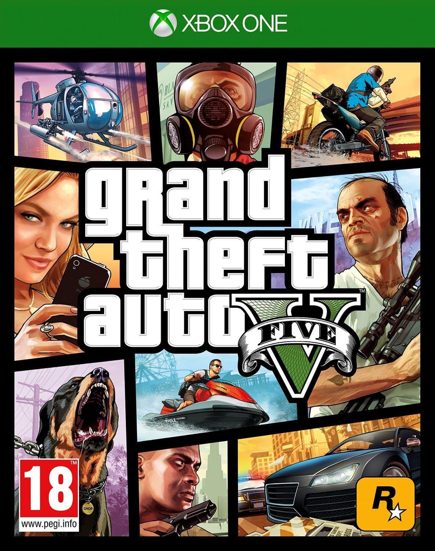 Jaquette Grand Theft Auto V