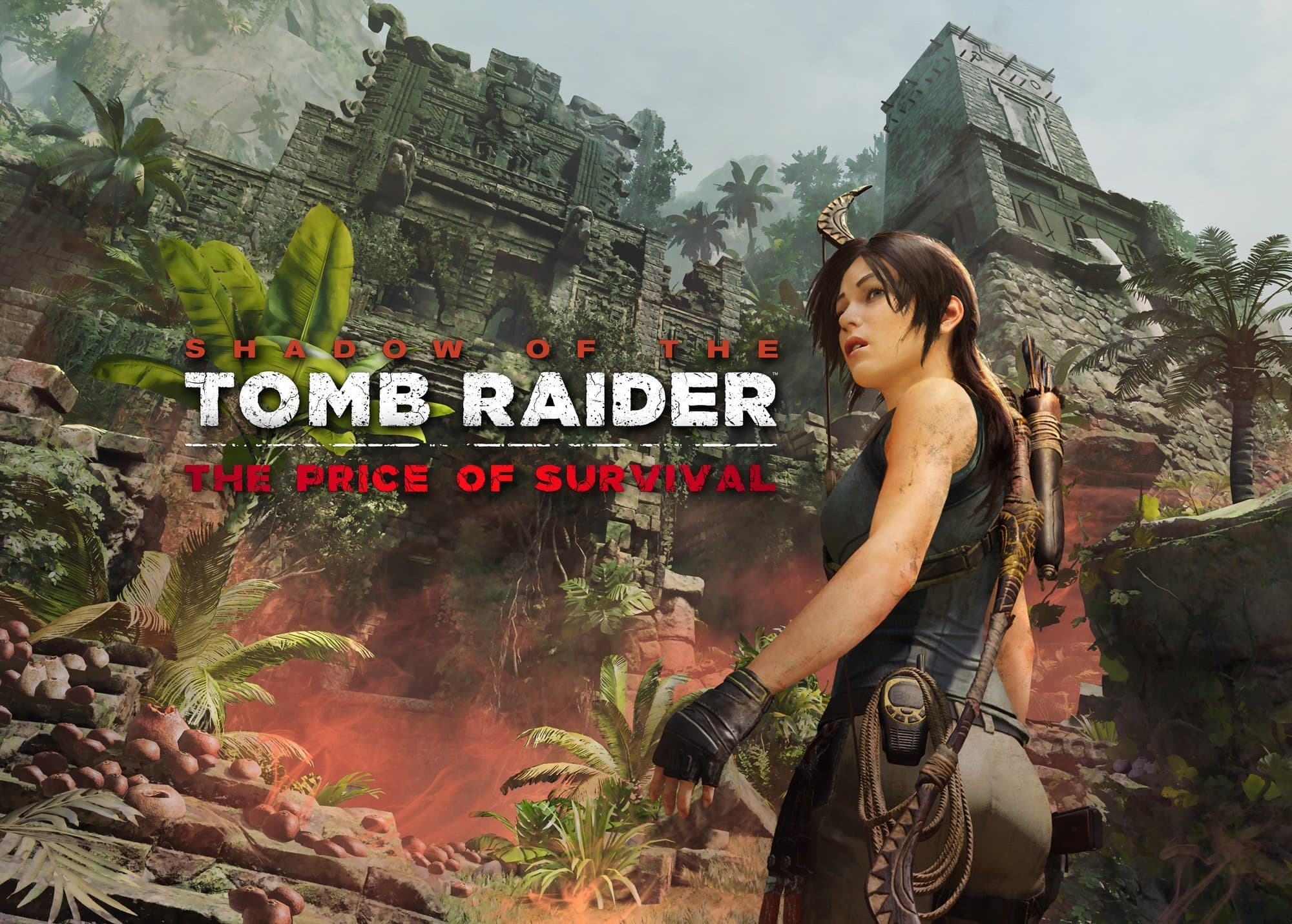 Jaquette Shadow of the Tomb Raider : Le Prix de la Survie