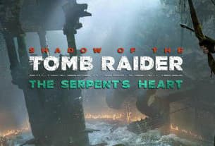 Jaquette Shadow of the Tomb Raider : Le Coeur du Serpent