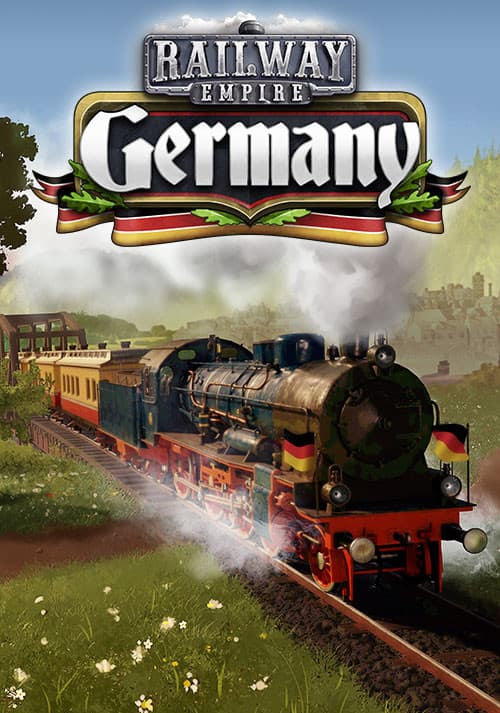 Jaquette Railway Empire : Germany