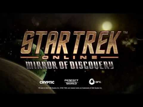Jaquette Star Trek Online : Mirror of Discovery