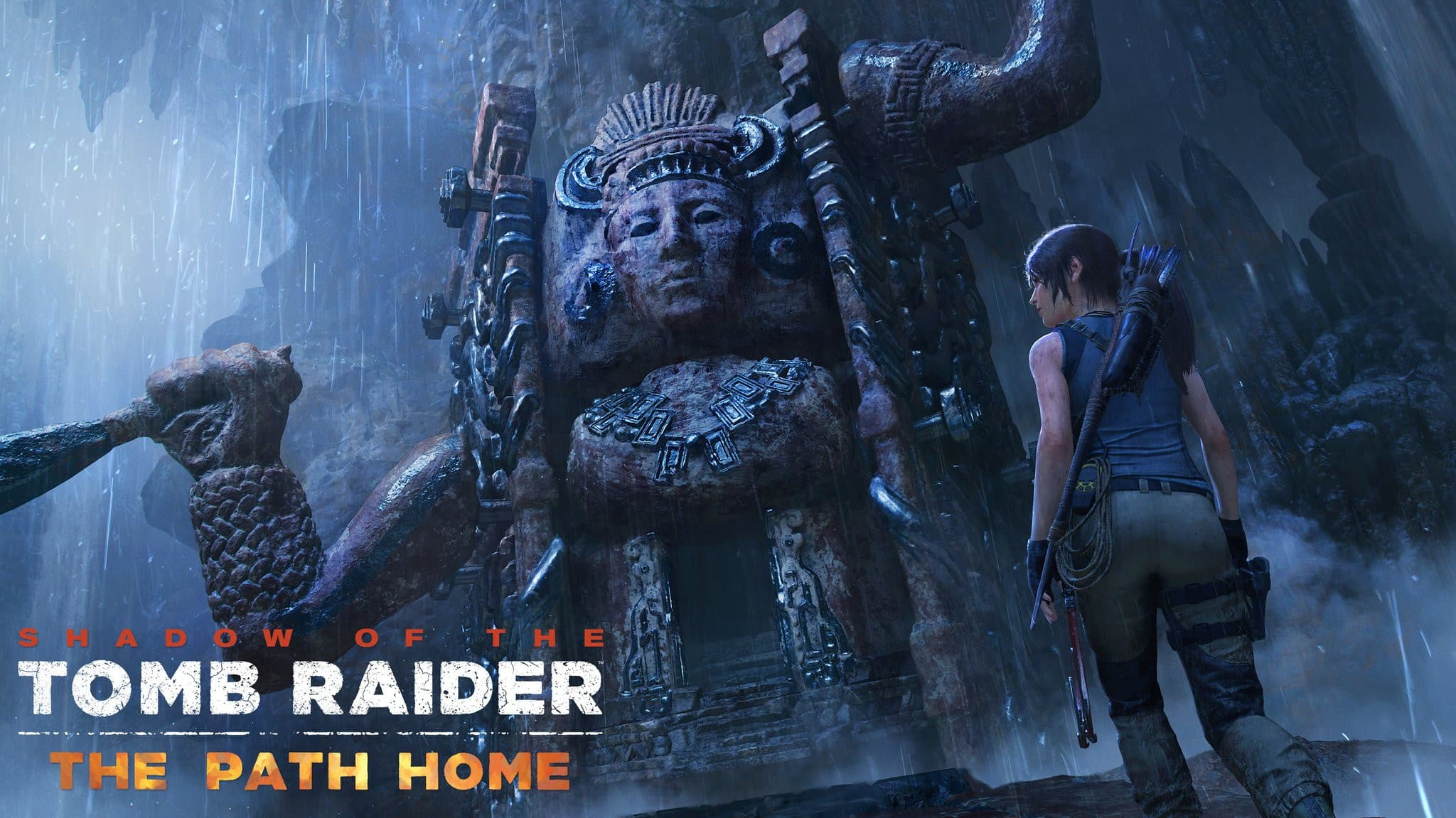 Jaquette Shadow of the Tomb Raider : Le Chemin du Retour
